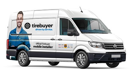 Mobile tire installers