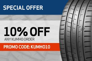 Kumho: 10% off any order