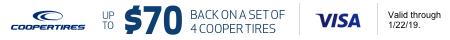 Cooper Mail In Rebate