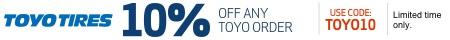 TOYO12 - 12% Off