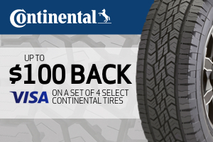 Continental: Up to $100 back