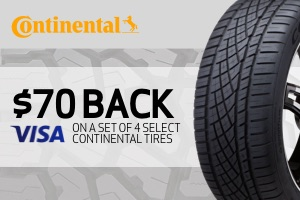 Continental: $80 back