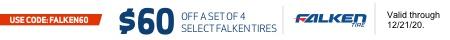 Falken Mail In Rebate