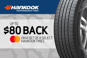 Hankook: $80 back