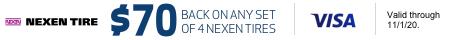 Nexen $70 Mail-in rebate