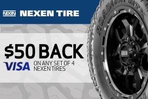 Nexen: $50 back