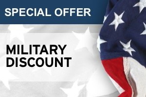 SPECIAL OFFER: MILITARY DISCOUNT