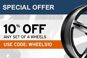 10% off any set of 4 wheels