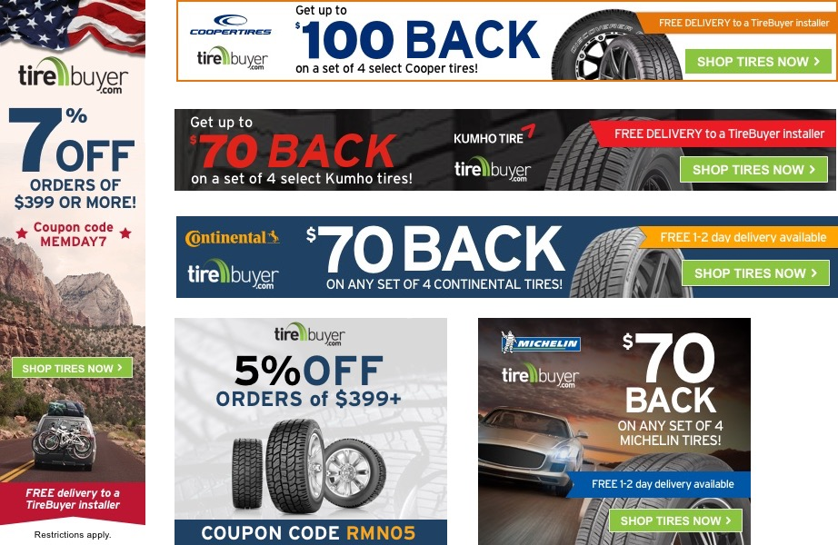 Affiliate Program Tirebuyer Com