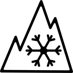 3-Peak Mountain Snowflake designation