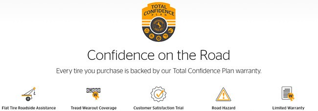 Continental Tire Total Confidence Plan warranty