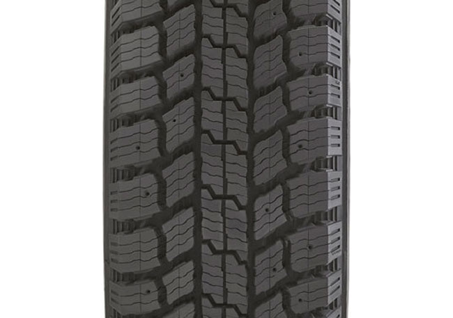 The Grabber Arctic LT's deep tread accomplishes two goals