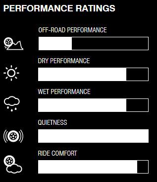 Nitto Dura Grappler internal performance ratings