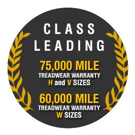Class leading warranty