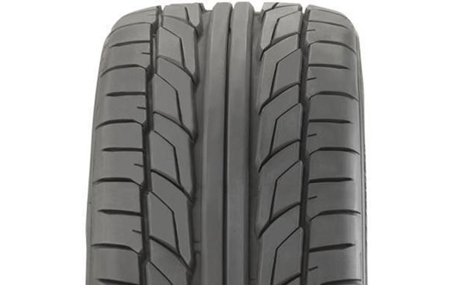 Close-up of NT555 tread