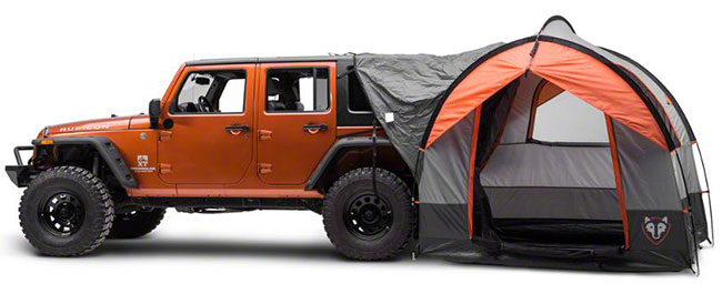 Camping Jeep-style