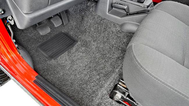 Jeep floor liners
