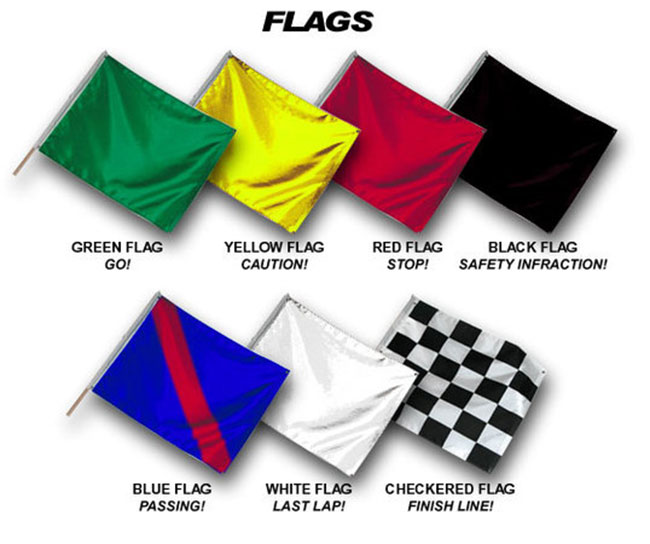 Track day flags you should know