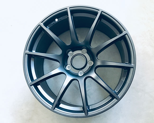 The wheel diameter