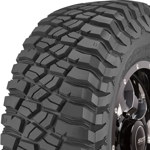 BF Goodrich Mud Terrain T/A KM3 tread and side