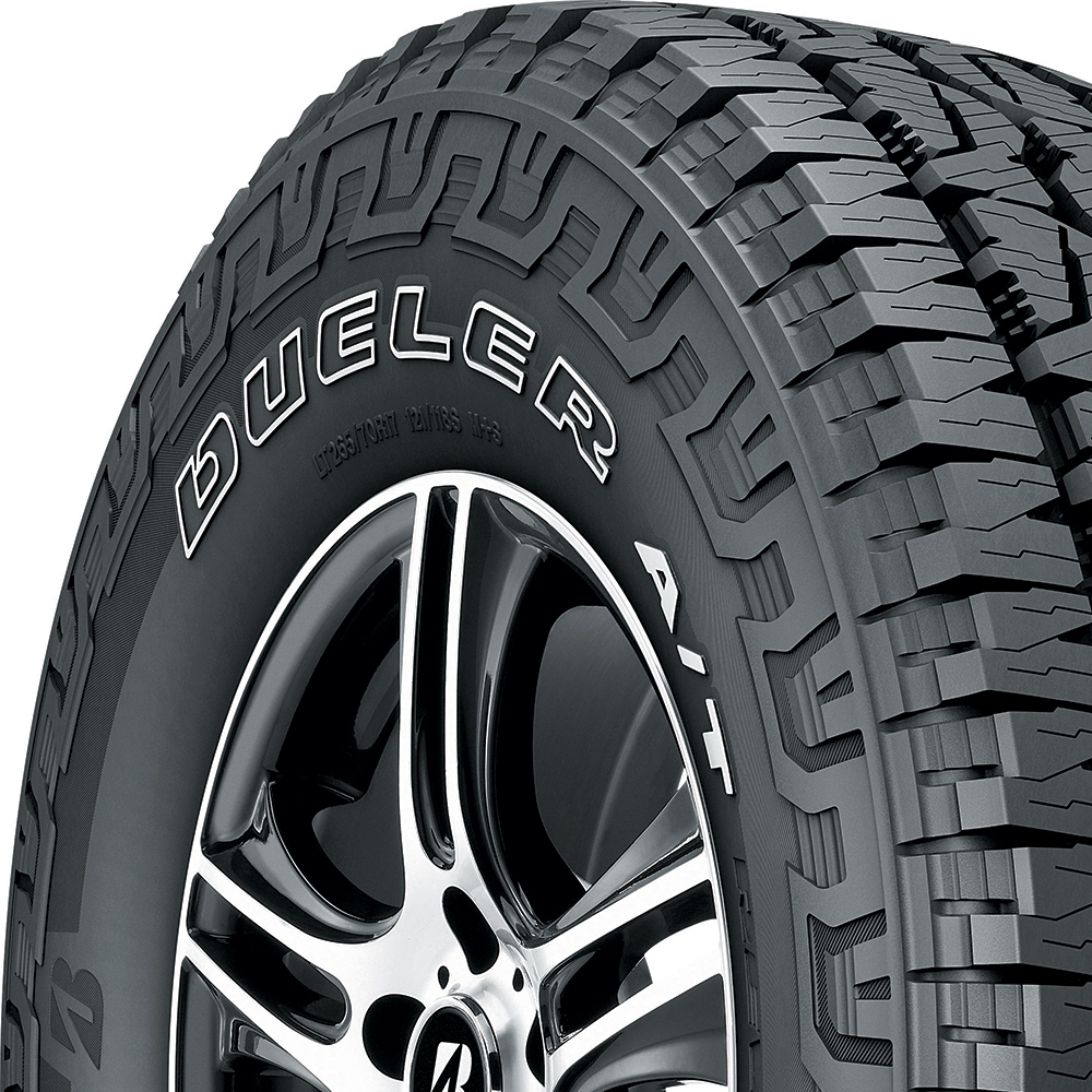 Bridgestone Dueler A/T REVO 3 tread and side