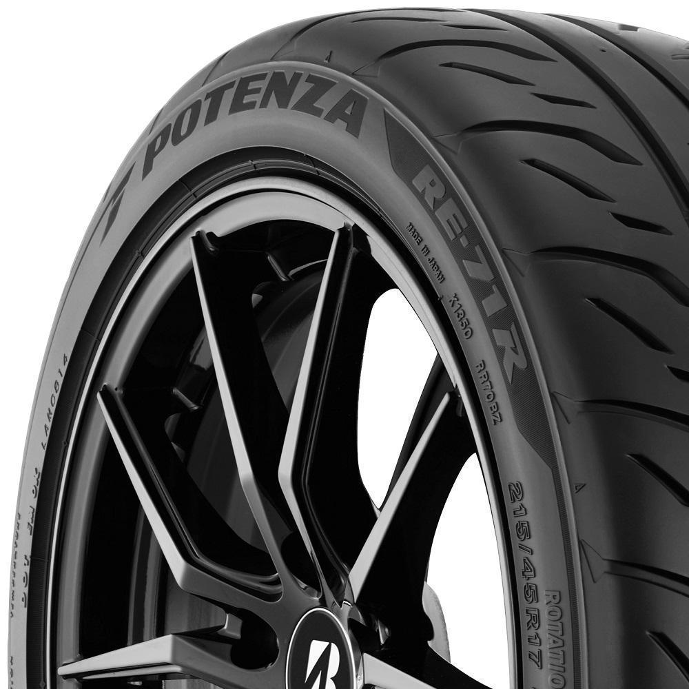 Bridgestone Potenza RE-71R tread and side
