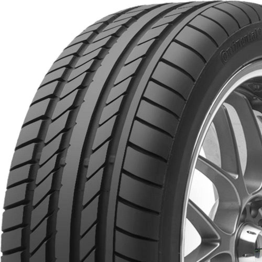Continental ContiSportContact tread and side