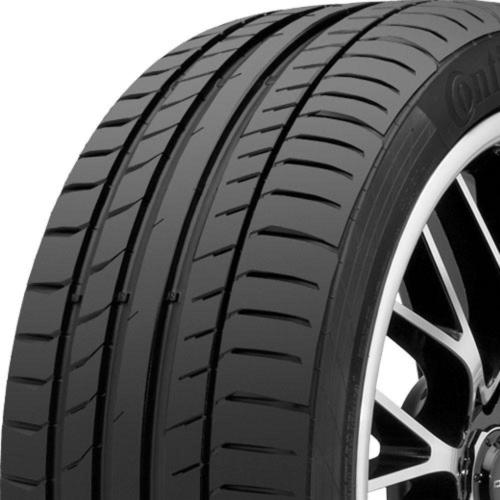 Continental ContiSportContact 5 SSR tread and side