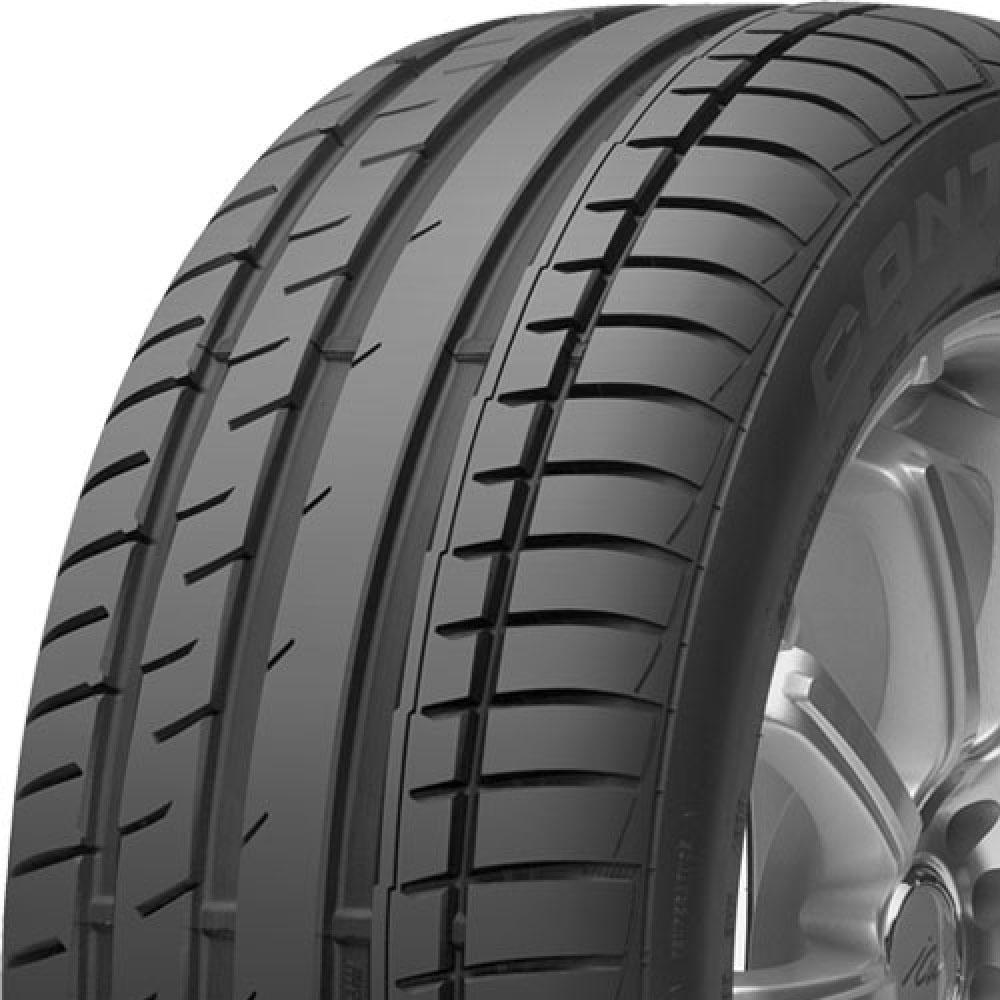 Continental ExtremeContact DW tread and side