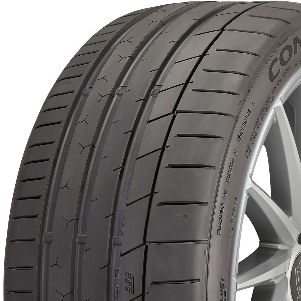 Continental ExtremeContact Sport tread and side