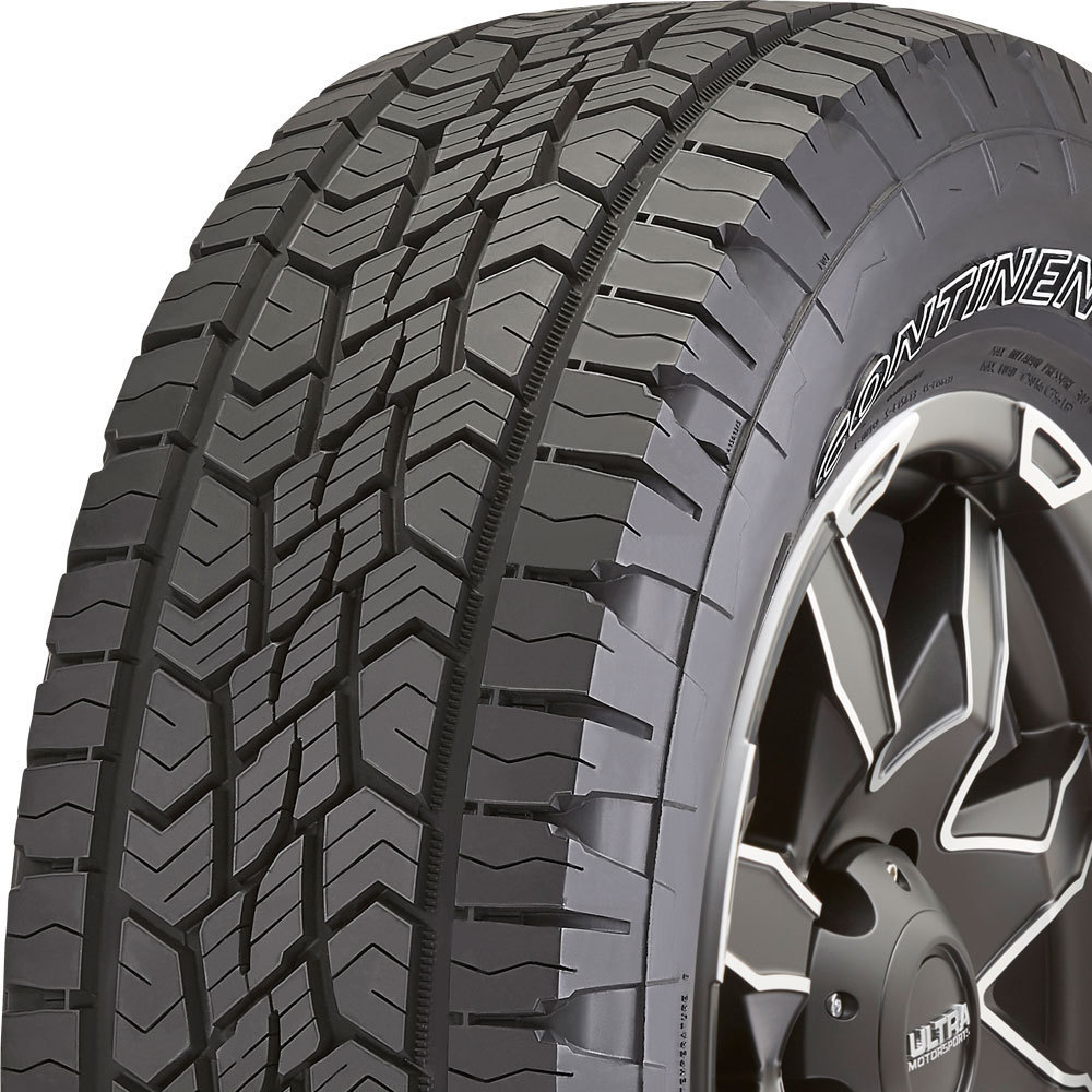 Continental TerrainContact A/T tread and side