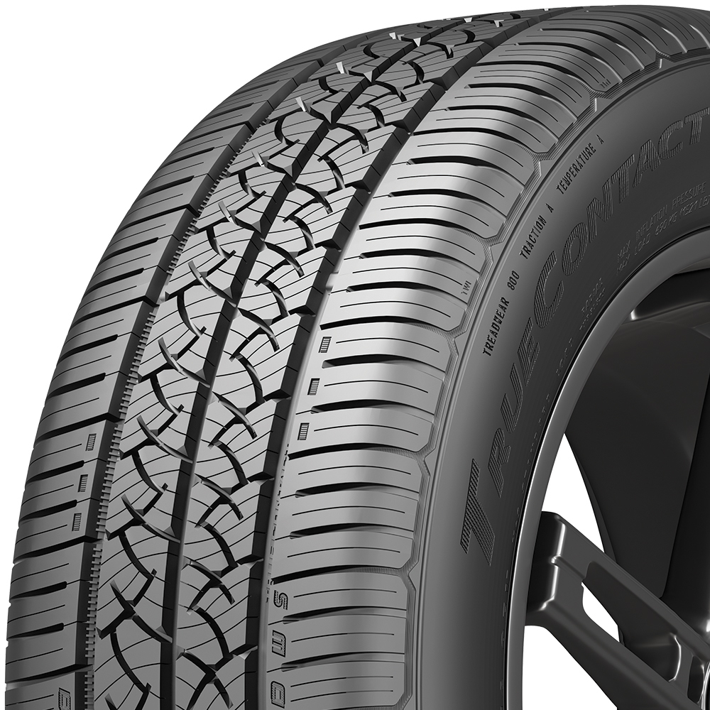 Continental TrueContact Tour tread and side