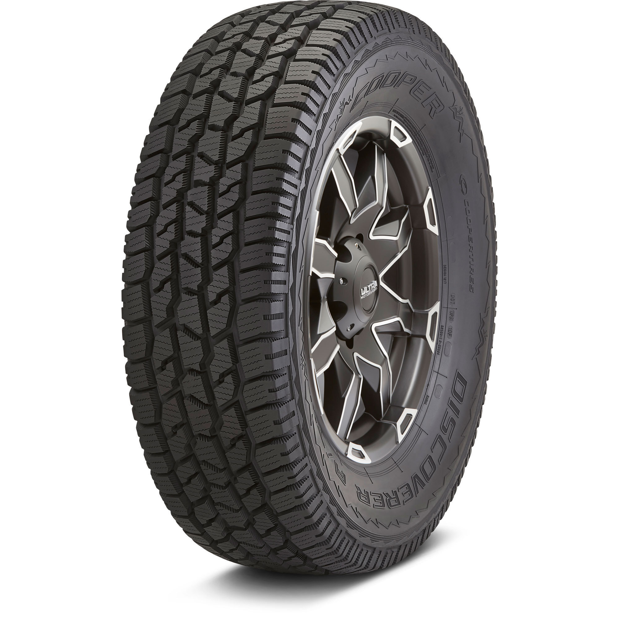 Cooper Discoverer A Tw Tread And Side