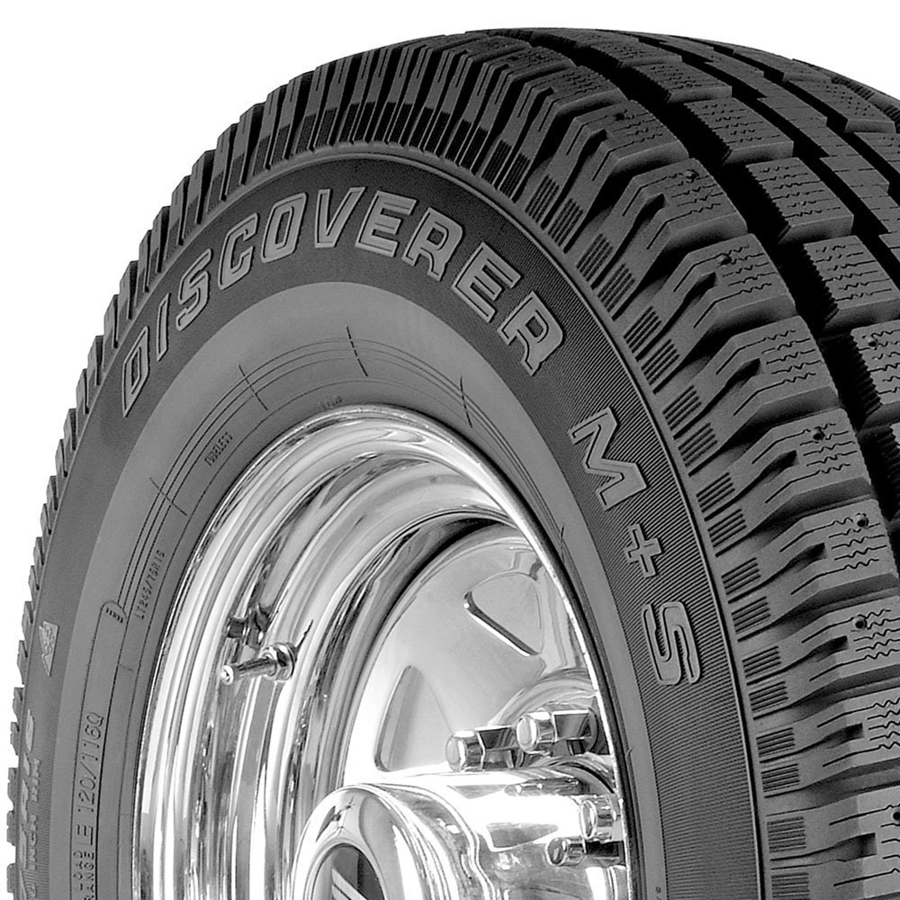 Cooper Discoverer M+S tread and side