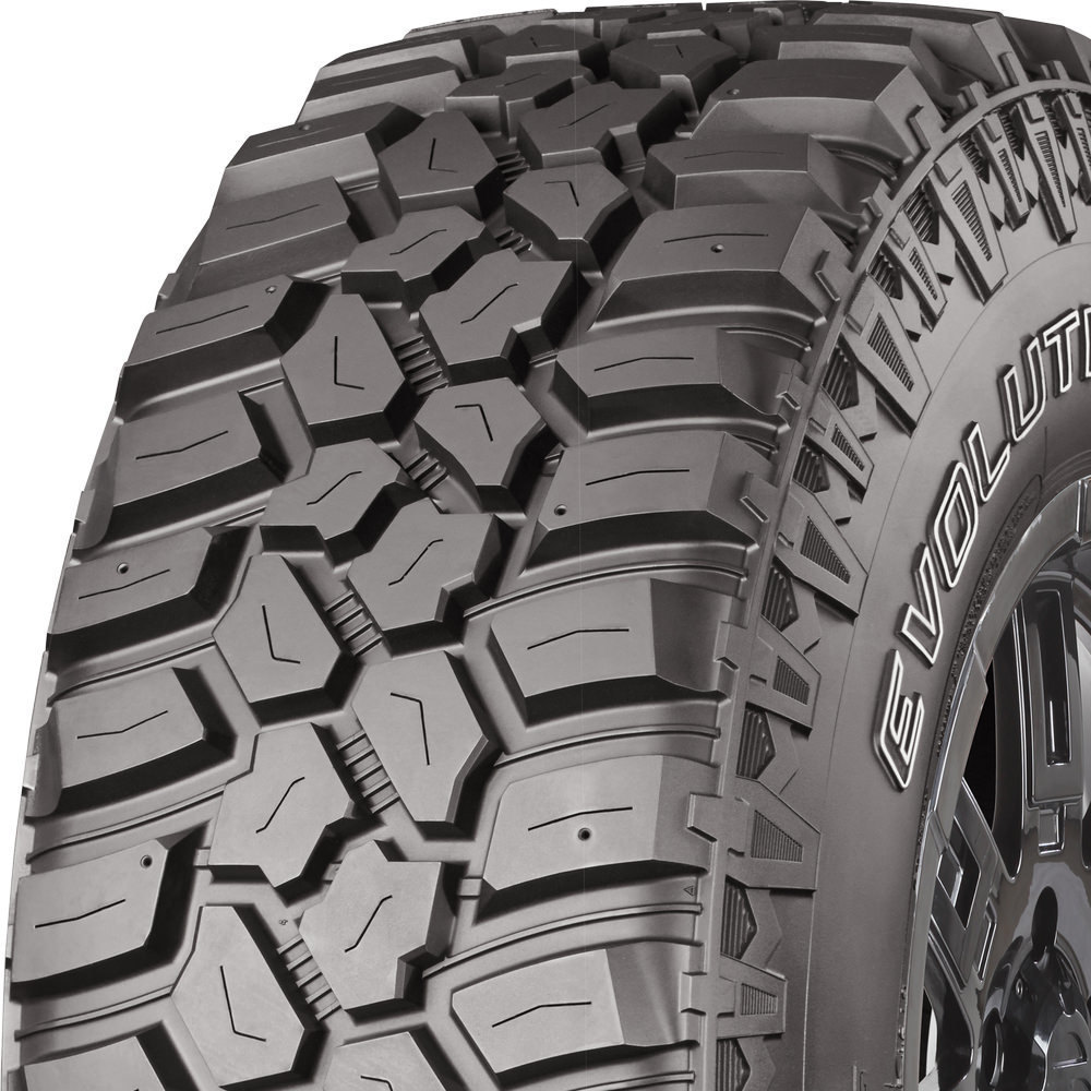 Terrain Radial Tire-LT265//75R16 123Q 10-ply Cooper Evolution M//T All