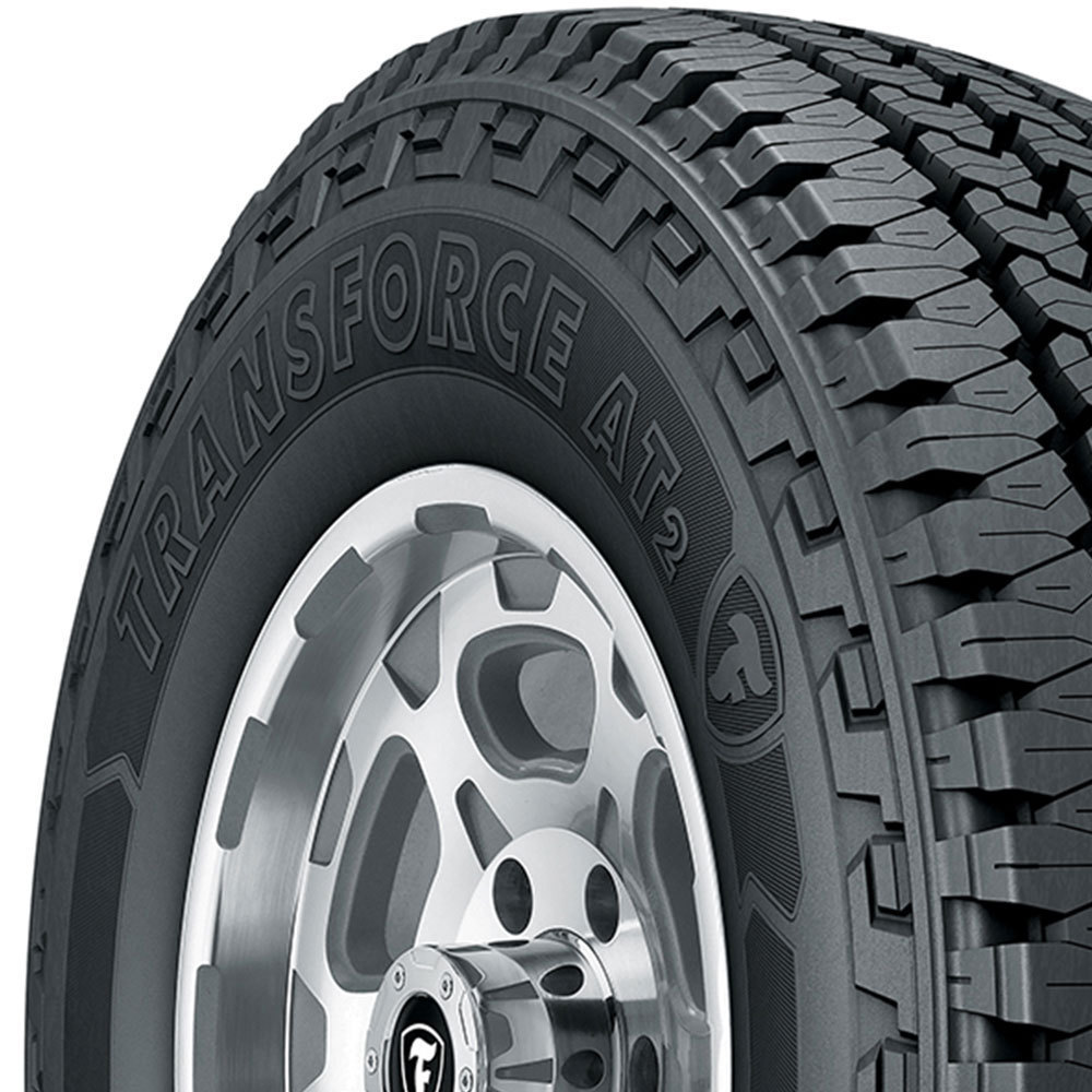 Firestone Transforce AT2 tread and side