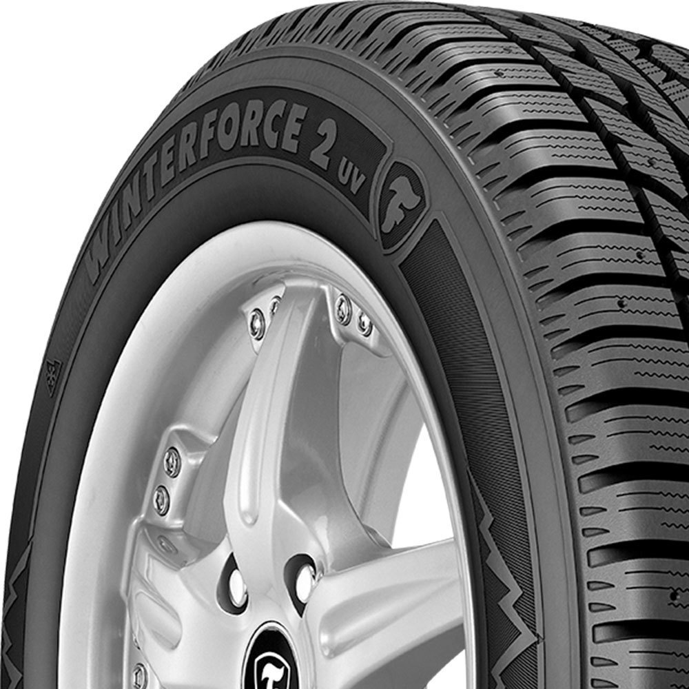 Firestone Winterforce 2 UV tread and side