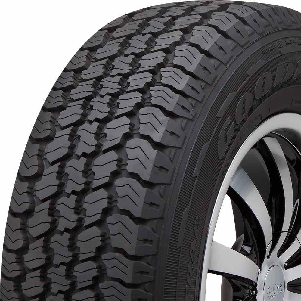 Goodyear Wrangler ArmorTrac-P tread and side