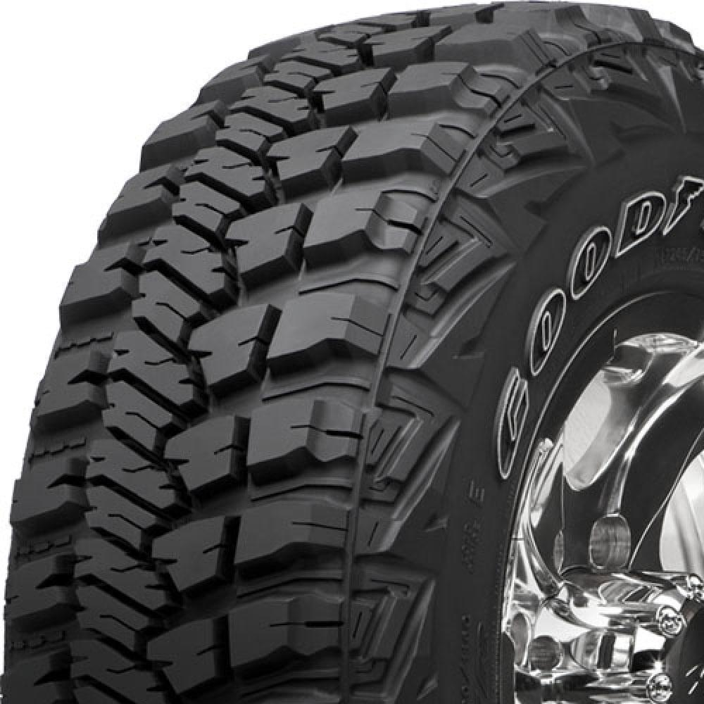 Goodyear Wrangler MT/R with Kevlar tread and side