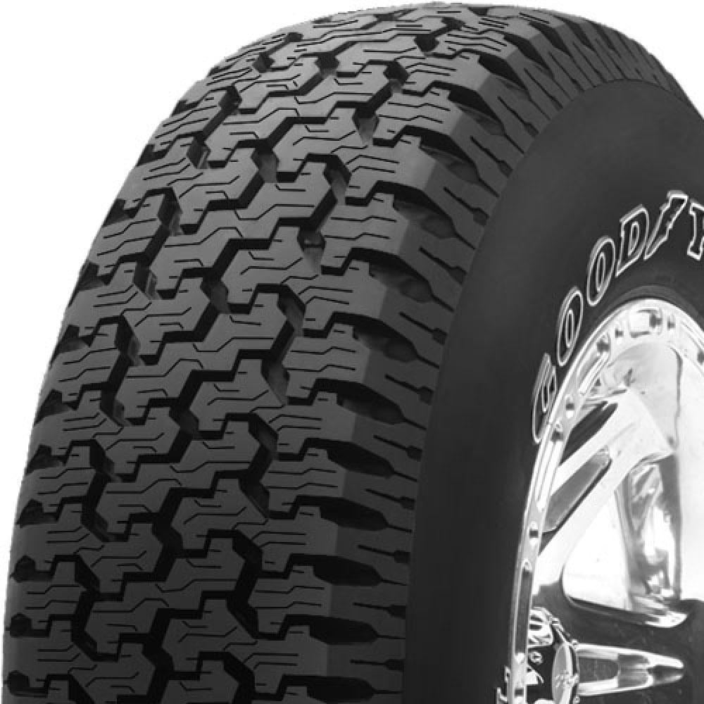 Goodyear Wrangler Radial tread and side