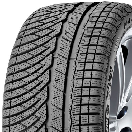 Michelin Pilot Alpin PA4 tread and side
