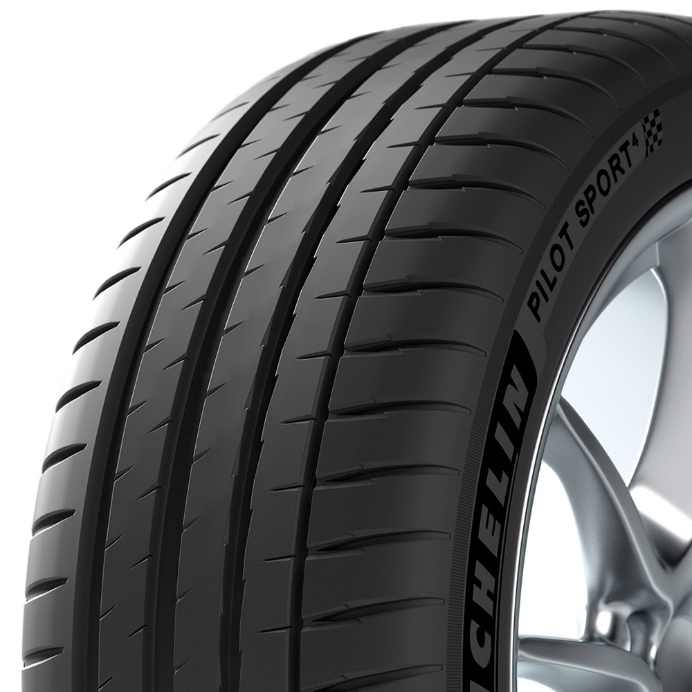Michelin Pilot Sport 4 tread and side