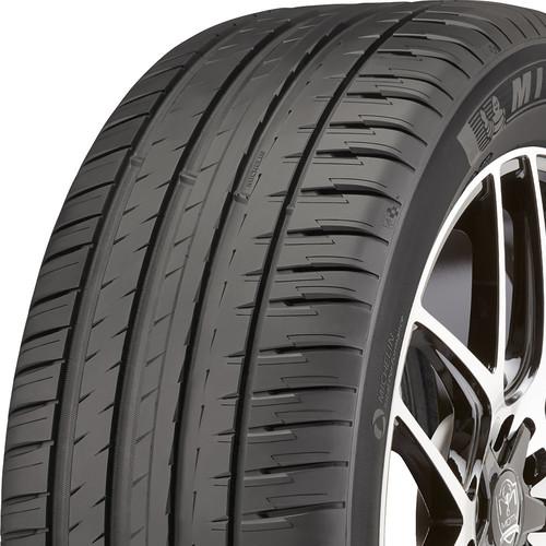 Michelin Pilot Sport 4 SUV tread and side