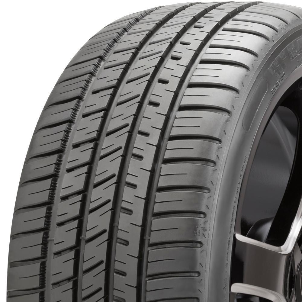 Michelin Pilot Sport A/S 3 Plus tread and side