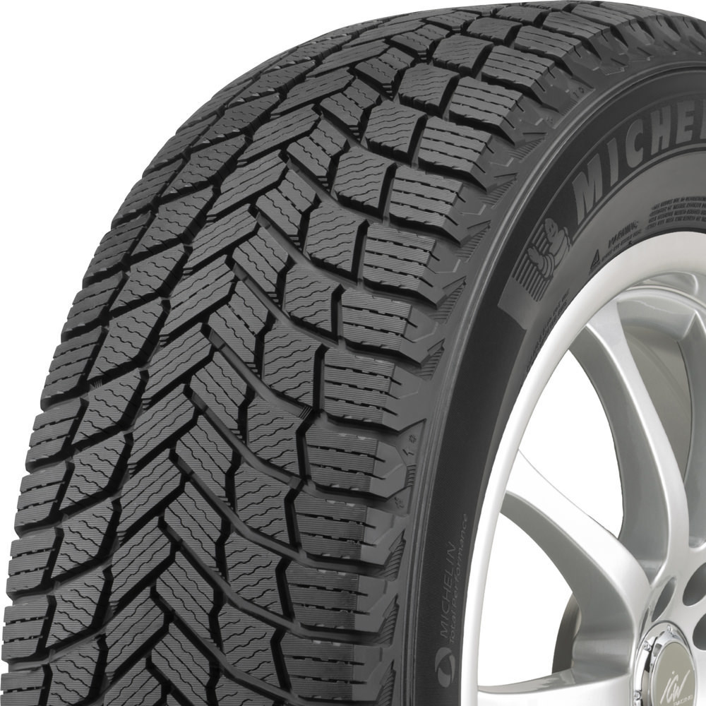 Michelin X-Ice Snow SUV tread and side