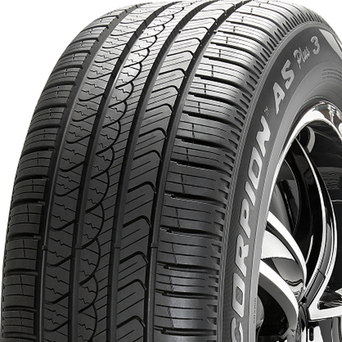 Pirelli Scorpion All Season Plus 3 tread and side