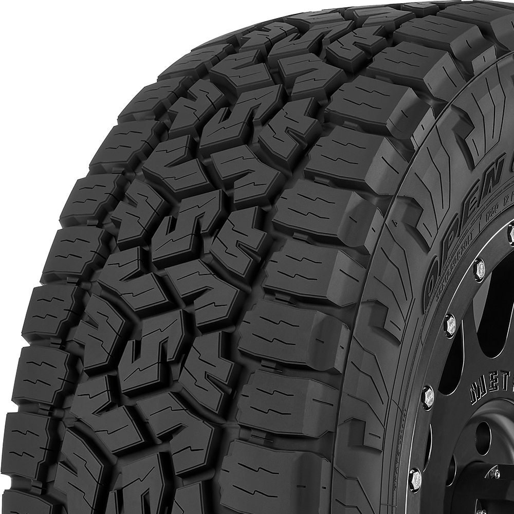 Toyo Open Country A/T III tread and side