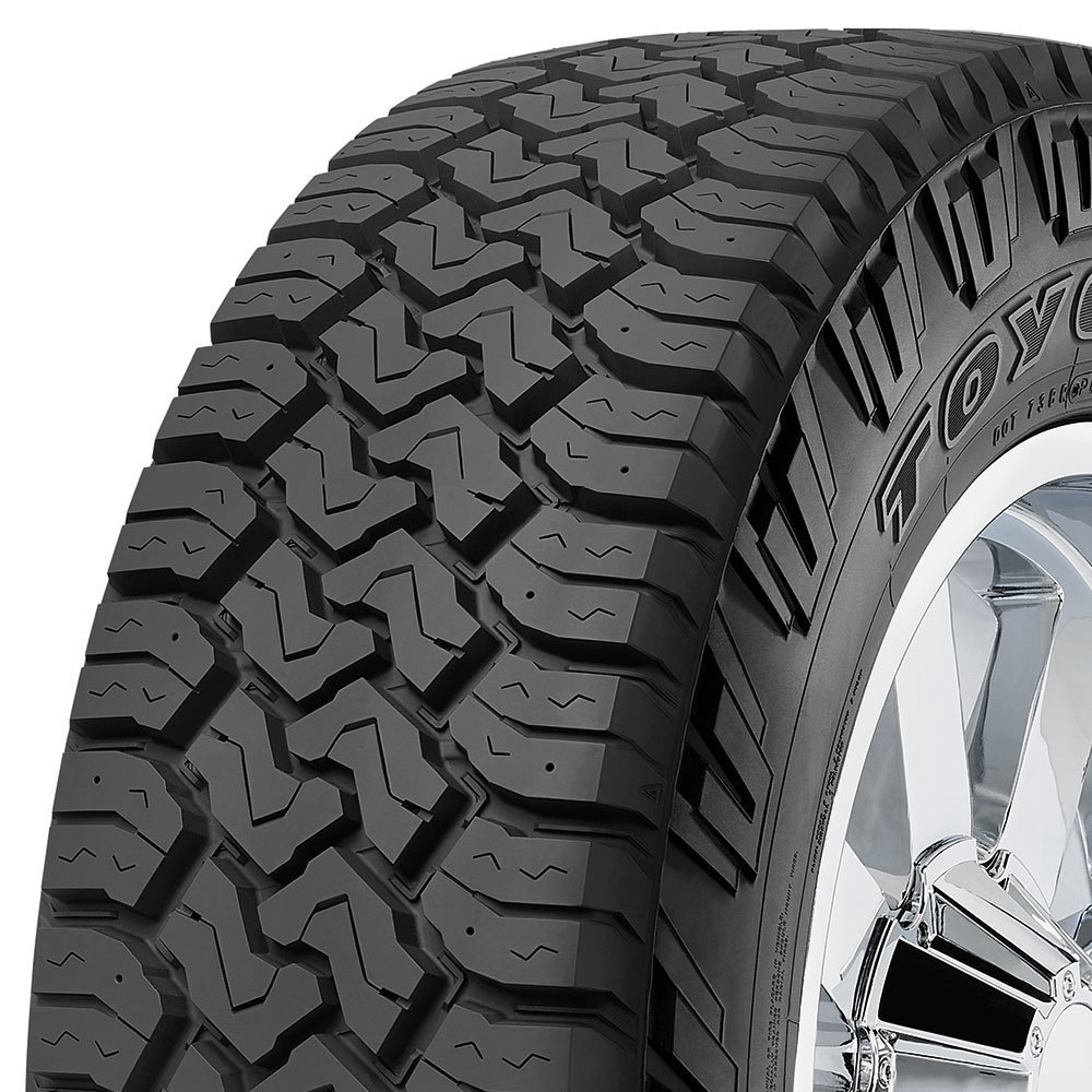 Toyo Open Country C/T tread and side