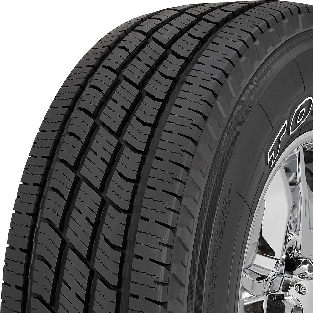 Toyo Open Country H/T II tread and side