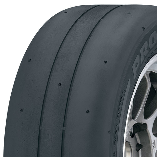 Toyo Proxes RR tread and side